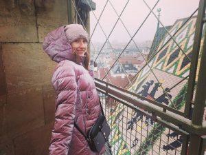 По венским крышам) Северная башня🐒❄️💧 Прекрасный Собор Святого Штефана внутри, снаружи, с крыши) #stephansdom#севернаябашня#австрия#вена#wien#austria#соборсвятогоштефана