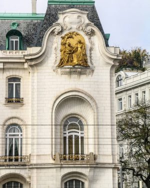 Sezessionstil francese {G.P. Chedanne, Ambassade de France, 1903-1909 Vienna} [Viaggio in Europa/Travel to Europe] #architecture #architecturephotos #architecturephotography...