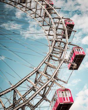 vienna ferris wheel. #vienna #austria #architecture #ferriswheel #wien #photography #viennaarchitecture #city #prater #streetphotography ...