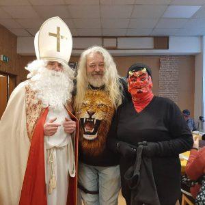 Überraschenden Besuch erhielten die Gäste einer Wärmestube in Margareten. Der Nikolaus ließ es sich nicht nehmen auch...
