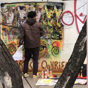 #artisteouvrier @museumsquartier @q21_vienna @leopold_museum #quasi #stencilonwall #wcastencils @artiste_ouvrier #retouches MQ – MuseumsQuartier Wien