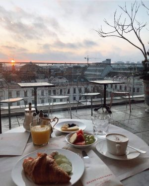 Morning in Vienna ☀️🎯 #vienna🇦🇹 #austria🇦🇹 #modeon #breakfastwithview #trip✈️ #timetotravel🌏 #Top7Agency🛬 Grand Ferdinand - Hotel am Ring