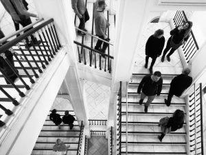 Stairway pic 🙂 #blackandwhite #bnwphotography #geometric #architechture #stairs #stairway #wien #albertinamuseum Albertina Museum