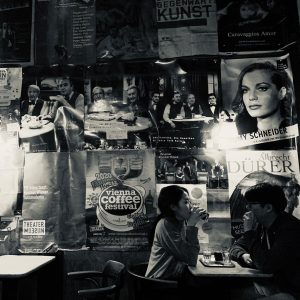 #Vienna #cafe #ウィン #カフェ #blackandwhite #白黒 Café Hawelka