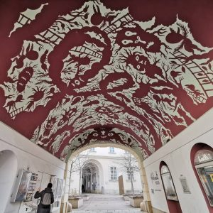 #photo by@cooliopa (keine bezahlte Werbung) #wien #graffitiwien #graffiti #wallart #streetartstyle #streetart Kunsthistorisches Museum Vienna