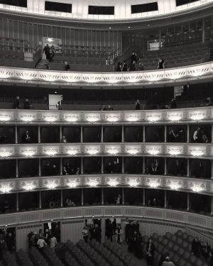 8th December 2019. Wiener Staatsoper