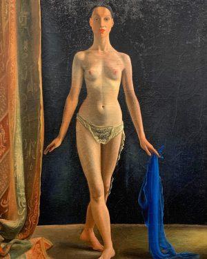 Грета Фрист. Танцовщица. Провокация. Именно провокация. А зачем тогда танцевать? #балет #ballet Albertina Museum