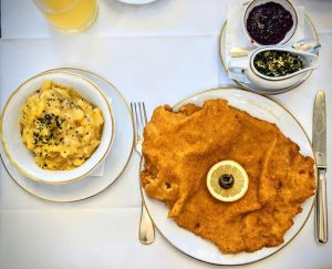 We interrupt our 24/7 Christmas coverage for a quick Schnitzel break at one of our absolute favorites...
