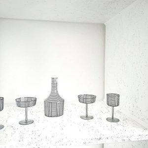 #Repost @andreasmurkudis ・・・ LOBMEYR #lobmeyr #glasses #andreasmurkudis #hoffmannbronzit #1912 #josefhoffmann #vienna #tableware #goodgift #crystal #earlymodernism #lobmeyrhoffmannb