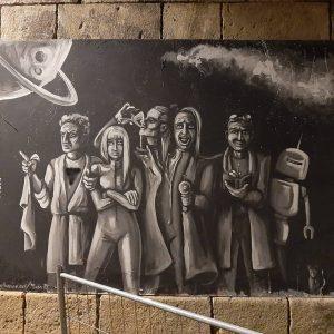 Городская настенная живопись. SO/ VIENNA