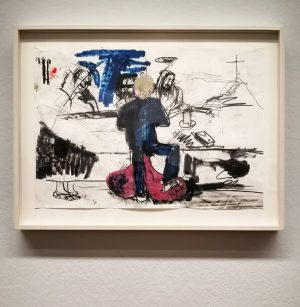 Instawalk - Albertina - #APassionForDrawing . Untitled / Ohne Titel, 2005 . #APassionForDrawing #GuerlainCollection #AlbertinaMuseum #Albertina #exhibition...