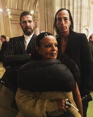 My mom is called Orlando // What a night at the Wiener Staatsoper! Michèle Lamy, Rick Owens,...