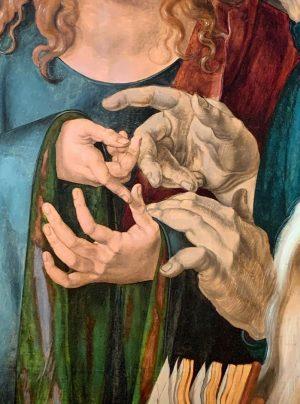 #hands #details #durer #albertina Albertina Museum