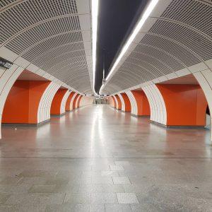 Vídeňská U-Bahn. #ubahn #ubahnwien #metro #podzemnidraha #vídeň #viden #wien #vienna #wienerlinien