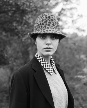Mühlbauer I #hatpeople with KAROLINA The #trilby #hat KARL in printed Gerard is a #mühlbauclassic that never...