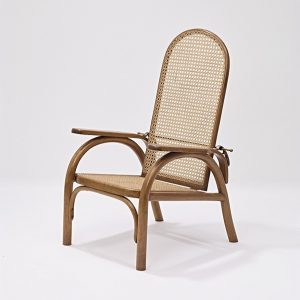 """The """"Morris Chair,"""" often—but so far without concrete evidence— attributed to Otto Prutscher, was offered in different..."""