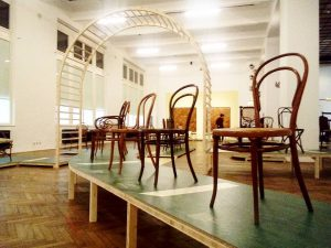 Impressions of the Press conference 'Bentwood and beyond. Thonet and Modern Furniture Design' @mak_vienna Discovered a lot...