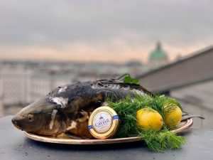 Our KaiserCaviar christmas carp for a very special christmas dinner is waiting for you @grandferdinand . If...
