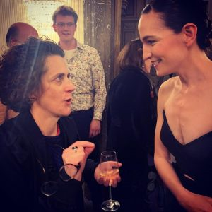 Quite a night last night. And good to compare notes with #olganeuwirth at @wienerstaatsoper #orlando Opera Wiener...