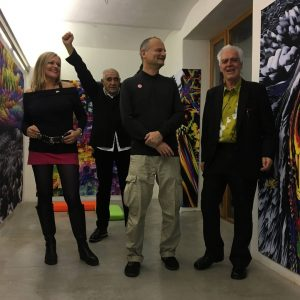 Opening of our solo-show 'It's True, it's GUNafa' with Peter Noever & Georg ...