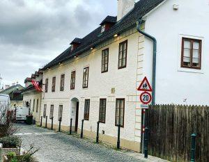 Beethoven lived here as well. Heiligenstadt. Wien Museum Beethoven Museum
