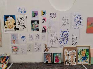 #museumsquartierwien #museumsquartier #livingstudio #janarnold #kunst #kunstwerk #art #artwork #artist #contemporaryart #potrait #skero #wien ...