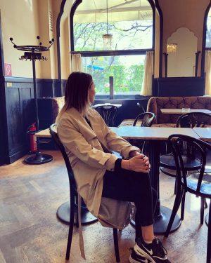 Coffee break #vien #coffee #spring #citybreak #eurotrip Cafe Tirolerhof