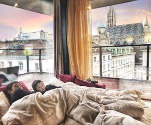 Sleep tight tonight... Hotel Lamée Vienna