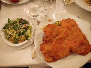 Schnitzel at the Imperial Hotel. #decadence #ultimateluxury #luxurytravel #luxury #food #foodinstagram #foodblogger #foodie ...