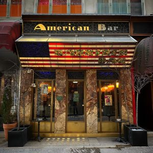I'm giving Adolf Loo's American Bar a full workout, second day in a row. If you don't...