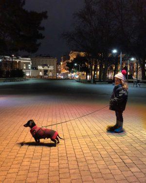 Evening walk Karlsplatz
