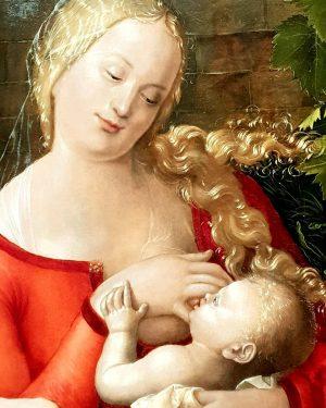 Madonna - Albrecht Dürer Albertina Museum