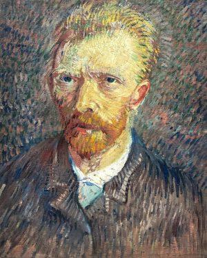 Self-Portrait, Vincent van Gogh. 1887 — View @leopold_museum . . . . . ...