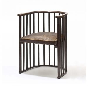 We 💕 the simplicity of this chair design: Armchair No. 728/F by Josef Hoffmann is made up...