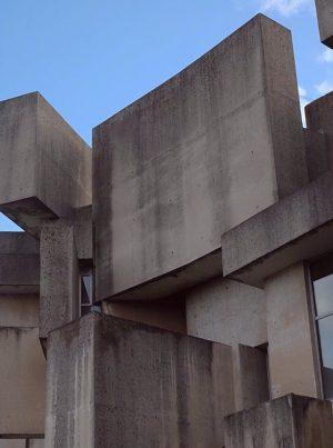 #wotrubakirche#vienna#architecture#minimalzine#brutalism#church#form Wotrubakirche