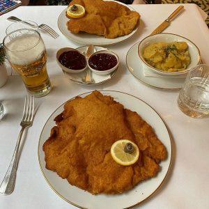 Double trouble in Vienna. Schnitzel love! Meissl & Schadn - Restaurant Vienna