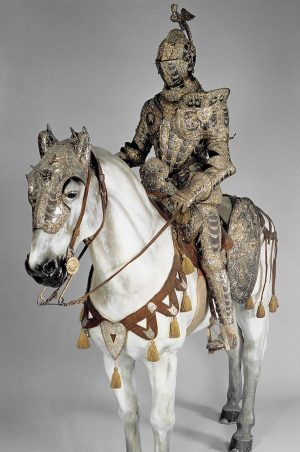 Parade armor Alessandro Farnese, Duke of Parma and Piacenza (1545-1592) Lucio Piccino, Milan, 1570. 🏛 Hofjagd- und...