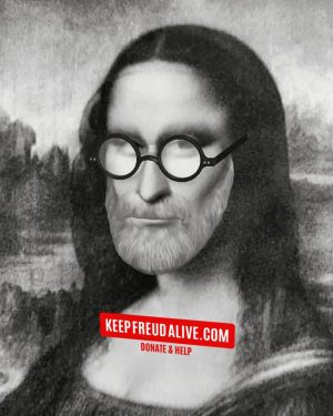 Mona Lisa has joined the movement. What about you? Every little donation helps ...