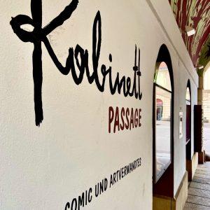 🧑🎨 3/8: Die KABINETT comic passage 👨🎨 In diesem Mikromuseum werden internationale Comic-KünstlerInnen, ...