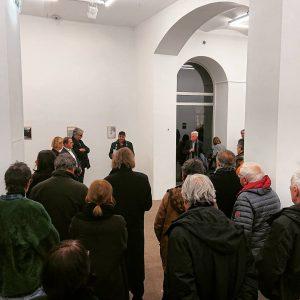 Opening: Marcus Geiger wenn2 kuratiert von Stefan Bidner #stefanbidner #marcusgeiger #galeriethoman Seilerstätte