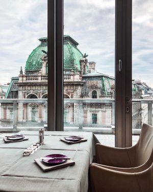 Lunch with a view 💜 #lunch #Vienna #view #wien #restaurant #Do&co #stephansdom #stephanplatz ...