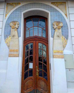 One of Vienna's loveliest portals in the Dannebergplatz in the 3rd district. Nr. ...