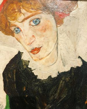 Portrait of Wally Neuzil, 1912. Egon Schiele — Wally Neuzil was not only ...
