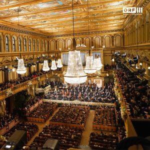 Im Goldenen Saal des Wiener Musikvereins steht heuer erstmals steht Andris Nelsons am Pult, um das neue...