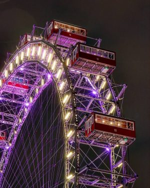 Win Win Win! We are giving away a Candle Light Dinner for two in a Riesenrad waggon....