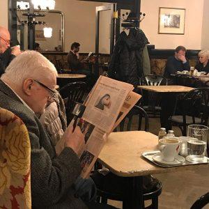 Monsieur Duluc Père, 73 ans de surveillance et filatures en tout genre Cafe ...