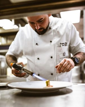 We proudly present: ⠀⠀⠀⠀⠀⠀⠀⠀⠀ Executive Chef René Molnar at work. 👨🍳 Hotel Bristol, a Luxury Collection Hotel,...