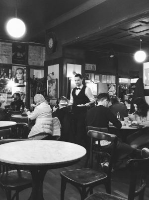Of all the cafés in Vienna, Café Hawelka in particular has always held ...