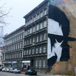 Unter Beobachtung #golif #viennamurals #viennastreetart #publicart #kulturblogger #kunstblogger #streetartvienna #murals #viennablogger Mariahilfergürtel Wien