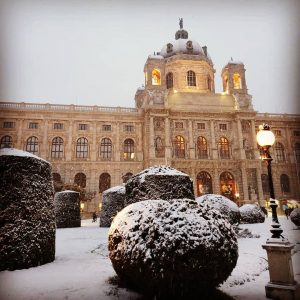 Vienna in best winter shape Kunsthistorisches Museum Vienna